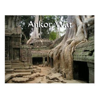 Ankor Wat Cambodia Postcard