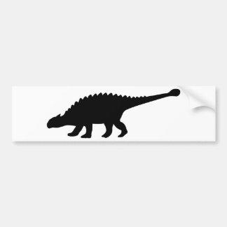 Ankylosaurus Dinosaur Bumper Sticker
