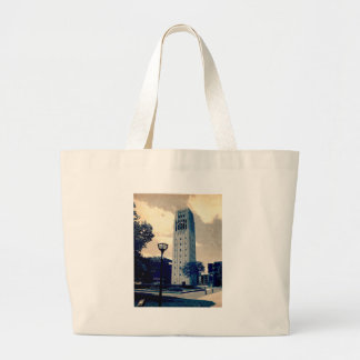 Ann Arbor Clock Tower Canvas Bags