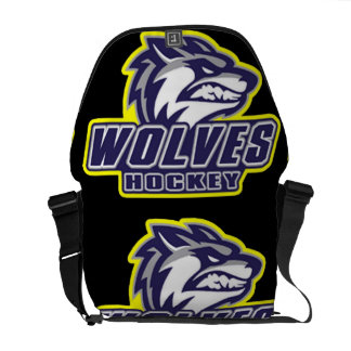 Ann Arbor Wolves Courier Bags