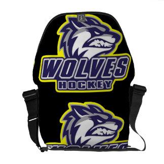 Ann Arbor Wolves Courier Bags