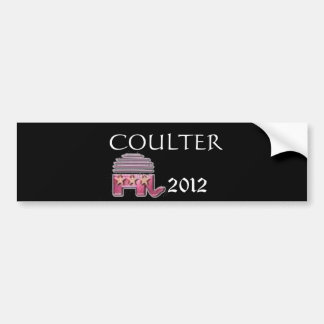Ann Coulter 2012 Bumper Sticker