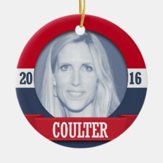 ANN COULTER 2016 CHRISTMAS ORNAMENT