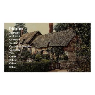 Ann Hathaway's Cottage, Stratford-on-Avon, England Business Card