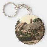 Ann Hathaway's Cottage, Stratford-on-Avon, England Keychain