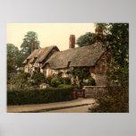 Ann Hathaway's Cottage, Stratford-on-Avon, England Poster