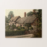 Ann Hathaway's Cottage, Stratford-on-Avon, England Jigsaw Puzzles