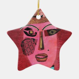 Ann of Green Gables. Ceramic Star Decoration