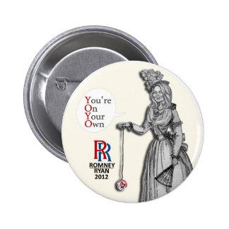 Ann Romney: YOYO 6 Cm Round Badge