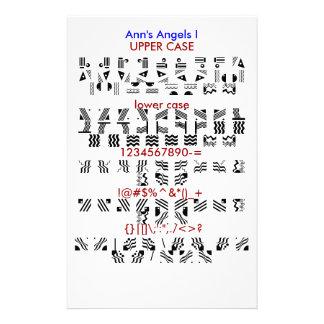 Ann s Angels I Custom Stationery