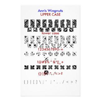 Ann s Wingnuts Custom Stationery