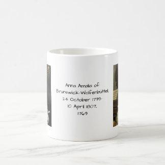 Anna Amalia of Brunswick-Wolfenbuttel 1769 Coffee Mug
