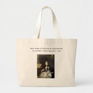 Anna Amalia of Brunswick-Wolfenbuttel 1769 Large Tote Bag