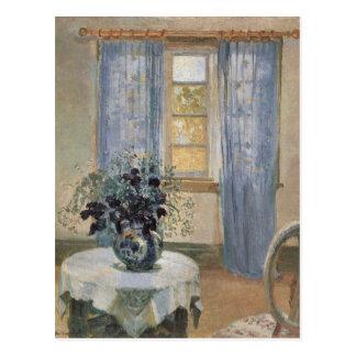 Anna Ancher's Blue Clematis in the Artist's Studio Postcard