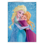 Anna and Elsa Hugging