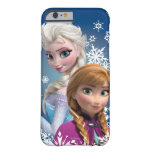 Anna and Elsa with Snowflakes iPhone 6 Case