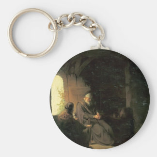 Anna and the Blind Tobit by Rembrandt Keychains