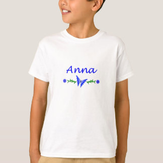 Anna (Blue Butterfly) T-Shirt