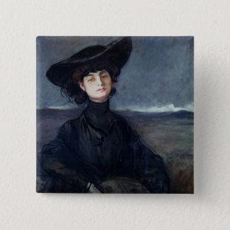 Anna de Noailles 15 Cm Square Badge