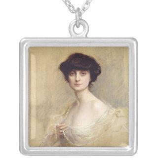 Anna de Noailles  1913 Silver Plated Necklace