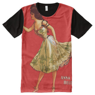 Anna Held All-Over Print T-Shirt