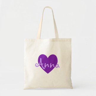 Anna in Purple Tote Bag