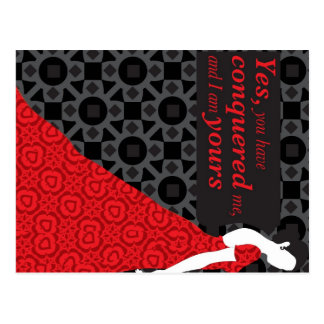 Anna Karenina gift with quote from the novel Postcard