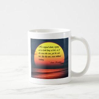Anna Karenina Saw Her Like the Sun Love Quote Coffee Mug