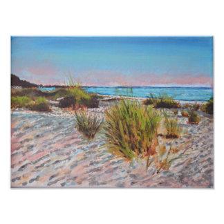 Anna Maria Island, Florida Beach Painting Photo Print