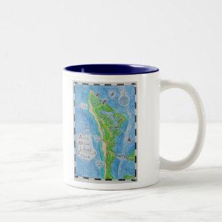 Anna Maria Island Map Mug