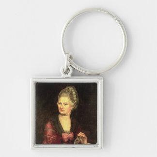 Anna Maria Mozart, nee Pertl Key Ring