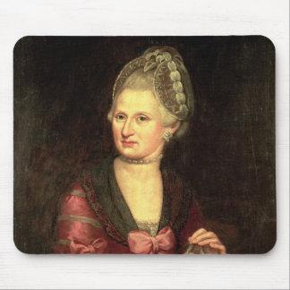 Anna Maria Mozart, nee Pertl Mouse Mat
