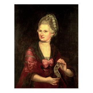 Anna Maria Mozart, nee Pertl Postcard