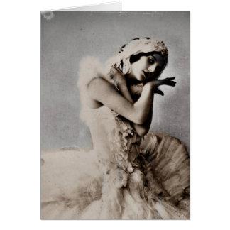 Anna Pavlova Posed en Pointe Greeting Card