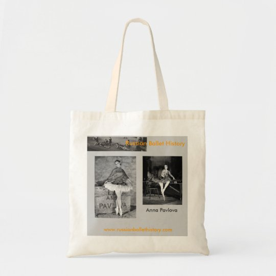 Anna Pavlova Spanish Themed Tote