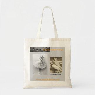 Anna Pavlova-Swan Budget Tote Bag