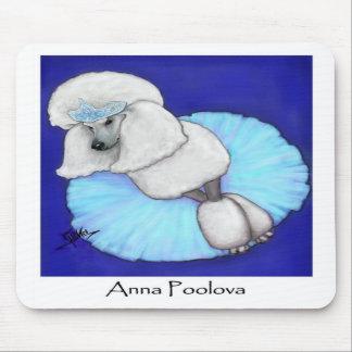 Anna Poolova Poodle Mousepad