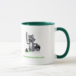 Anna Raccoon mug