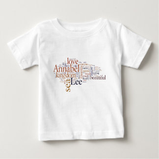 Annabel Lee Baby T-Shirt
