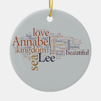 Annabel Lee Christmas Ornament
