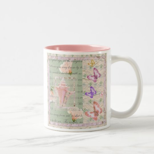 Annabell Lee Two-Tone Coffee Mug