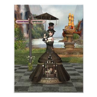 Annabella's Amusement Poster Photo Art