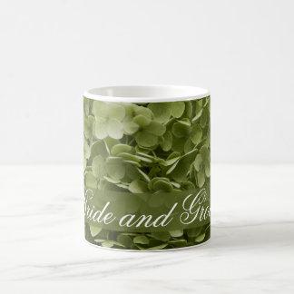Annabelle Hydrangea Wedding Coffee Mug