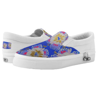 Annabelle Lace Slip On Shoes