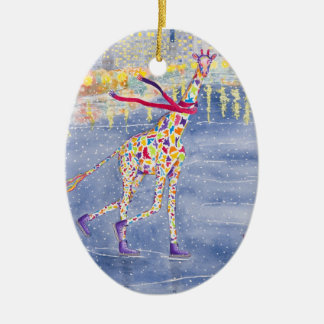 Annabelle on Ice 1-side Ornament