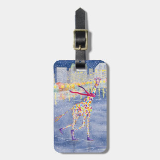 Annabelle on Ice Luggage Tag