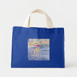 Annabelle on Ice Tiny Tote Mini Tote Bag