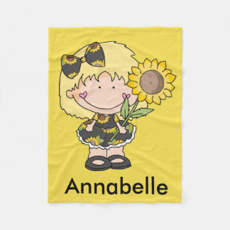 Annabelle's Sunflower Blanket