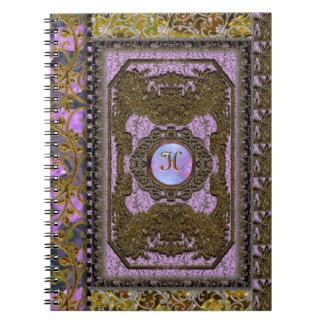 Annahythe Rhian Victorian Spiral Notebook