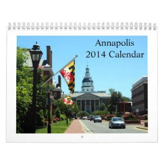 Annapolis 2014 Calendar